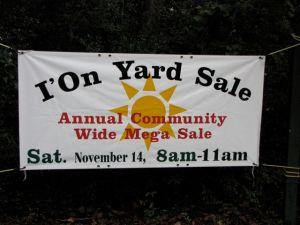 I'On Yard Sale
